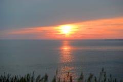 Sunset on Martha's Vineyard, MA, USA Stock Image