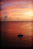 Sunset, Martinique. Royalty Free Stock Photography