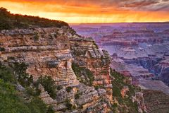 Mather Point Stock Photo
