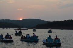 Sunset. In matheran Royalty Free Stock Images