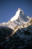 Sunset, Matterhorn pinnacle Stock Images