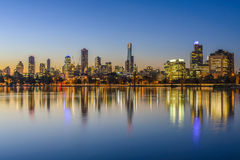 Sunset, Melbourne Stock Photography