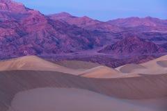 Mesquite Dunes in Death Valley, California, USA Stock Photo