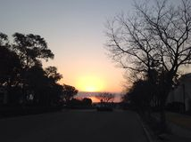 Sunset201407_01 Royalty Free Stock Photography