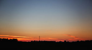Sunset in the Midwest Stock Photos