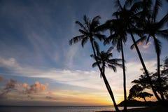 Almost Sunset on Molokai Stock Photos