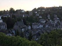 Sunset in Monschau Royalty Free Stock Photo