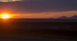 Sunset Montana Royalty Free Stock Images