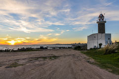 Sunset in Montevideo, Uruguay Stock Photo