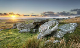 Sunset on the Moors Stock Photography