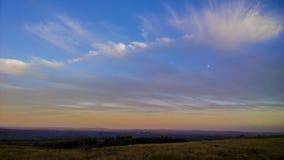 Sunset moors Stock Photos