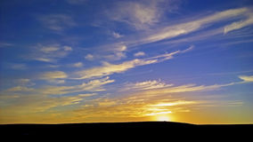Sunset moors Royalty Free Stock Image