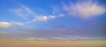 Sunset moors Royalty Free Stock Photos