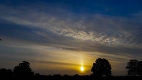 Sunset Morning sunrise landscape summer stock photo