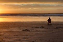 sunset morocco Fotografia Stock