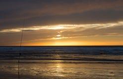sunset morocco Obraz Royalty Free