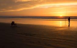 sunset morocco Zdjęcia Stock