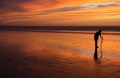 sunset morocco Obrazy Stock