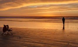 sunset morocco Zdjęcia Royalty Free