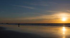 sunset morocco Fotografia Royalty Free
