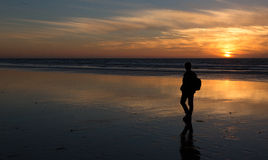 sunset morocco Zdjęcie Royalty Free