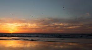 sunset morocco Zdjęcie Stock
