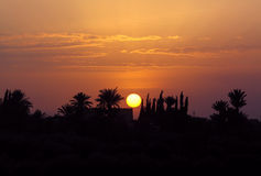 Sunset, Morocco Royalty Free Stock Images