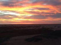 Sunset. Morro Bay, California Stock Photo