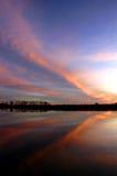 sunset motyla Zdjęcie Stock