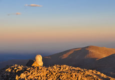 Sunset on Mount Evans Observatory Royalty Free Stock Image