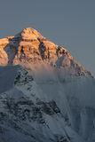 Sunset at Mount Everest Royalty Free Stock Images