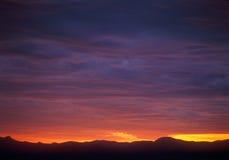 Sunset in mountains. Beautiful sunset. Please see similar photos in my portfolio Stock Photos