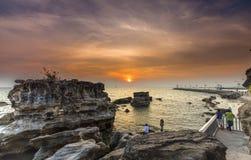 Sunset Mui Dinh, Phu Quoc, Vietnam stock photography