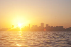 Sunset in Mumbai, India Stock Photo