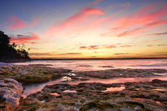 Sunset Murrays Beach Australia Stock Image