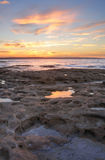 Sunset from Murrays Beach Jervis Bay Royalty Free Stock Photos