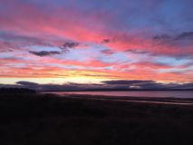 Sunset at Nairn Royalty Free Stock Images