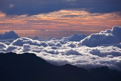 Sunset on Nawaii Royalty Free Stock Image