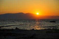 Sunset at Naxos Royalty Free Stock Photography