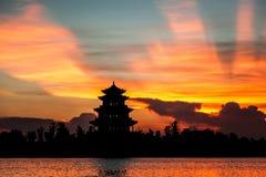 Free Sunset Near Lake Stock Image - 25740891