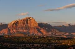 Sunset near Zion National Park, Utah, USA Stock Photos