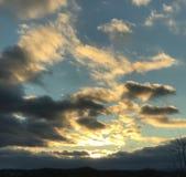 Sunset. New York Nature Stock Image