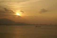 Sunset in Nha Trang Royalty Free Stock Image