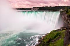 Sunset at Niagara Falls Stock Photos