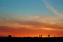 Sunset on the North Irish coast Royalty Free Stock Image