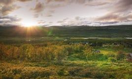 Sunset Norway Royalty Free Stock Image
