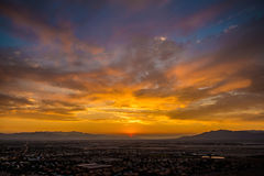 Sunset in NV Royalty Free Stock Photography
