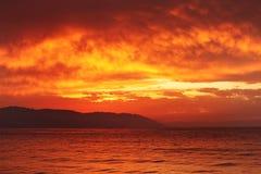 Sunset ocean Stock Photo