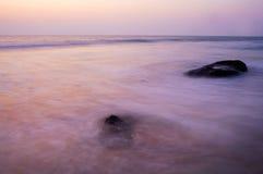 Sunset at the Ocean Stock Photos