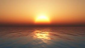 Sunset ocean Stock Photos